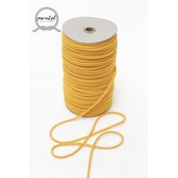 Sznurek bawełniany żółty 100m z rdzeniem